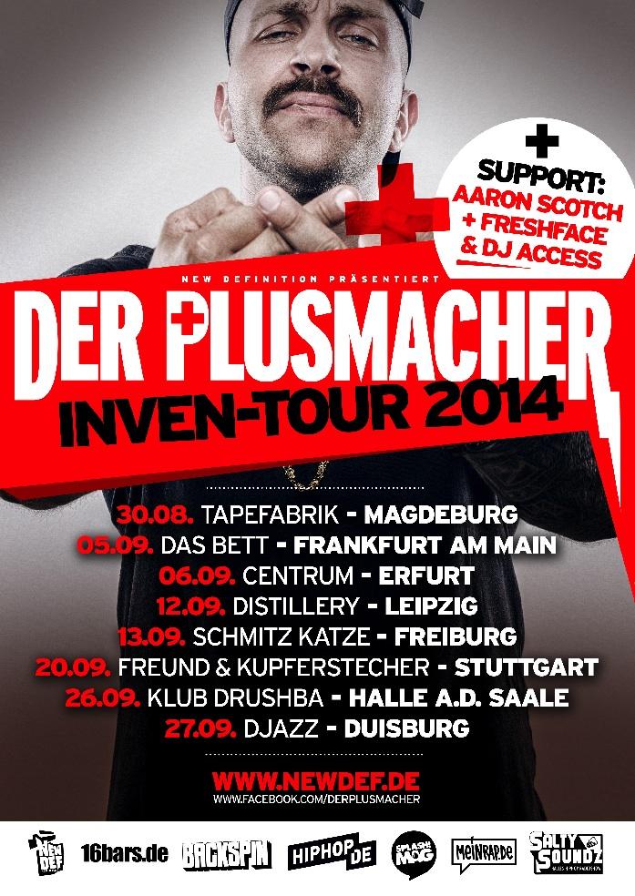 Plusmacher Inven-Tour Flyer