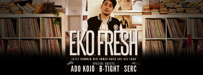 Eko Fresh Tour Header