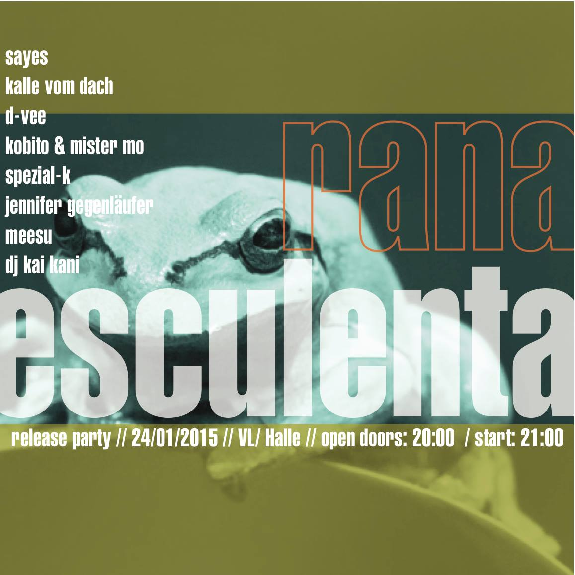 Rana Esculenta Release-Party