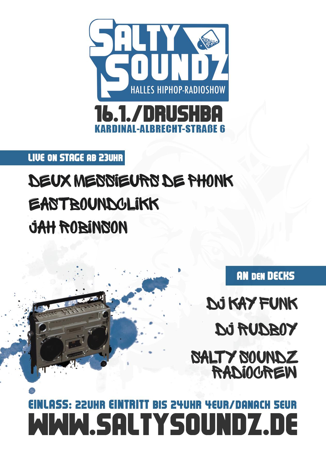 Salty Soundz Party 3 Flyer