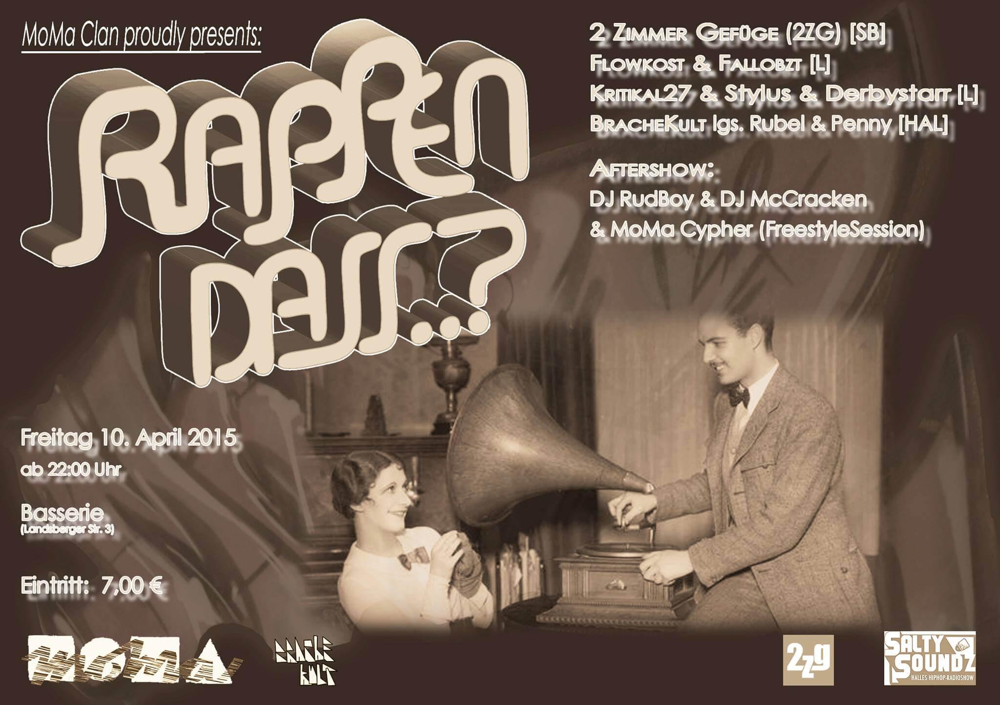 Rappen Dass 3 Flyer