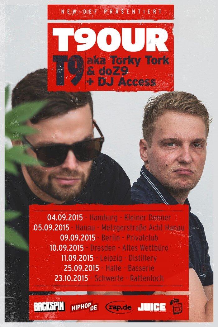 T9OUR-Plakat