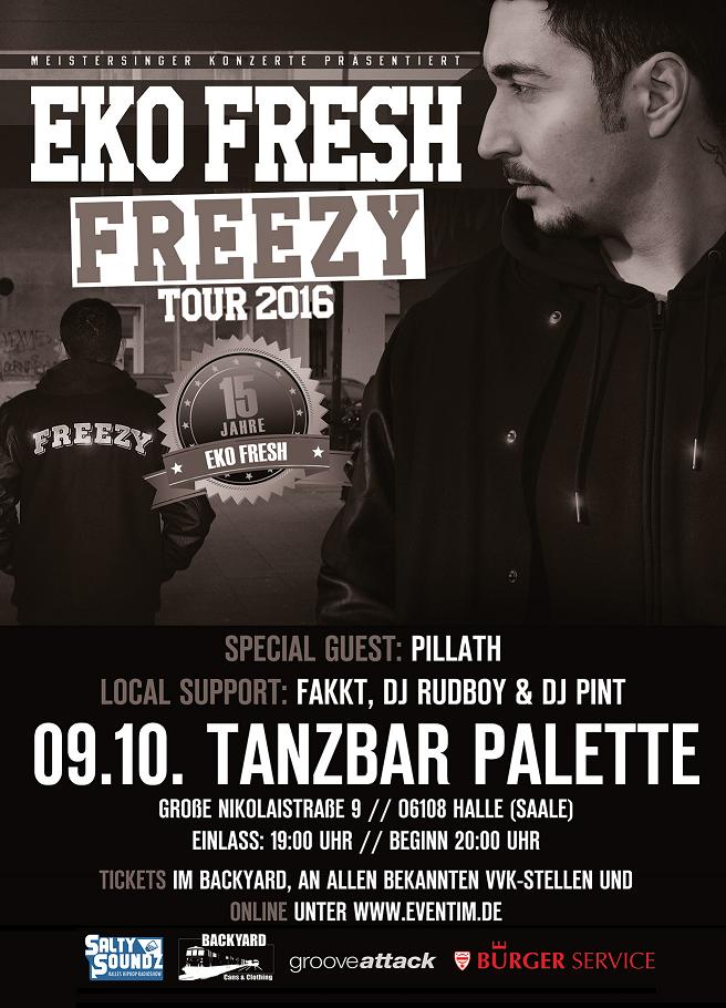 Eko Fresh LIVE in Halle